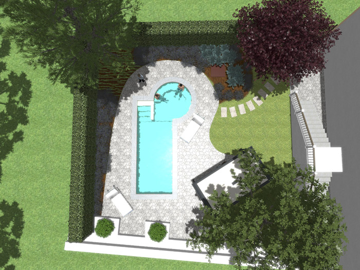 Pool Garden Design Piscine